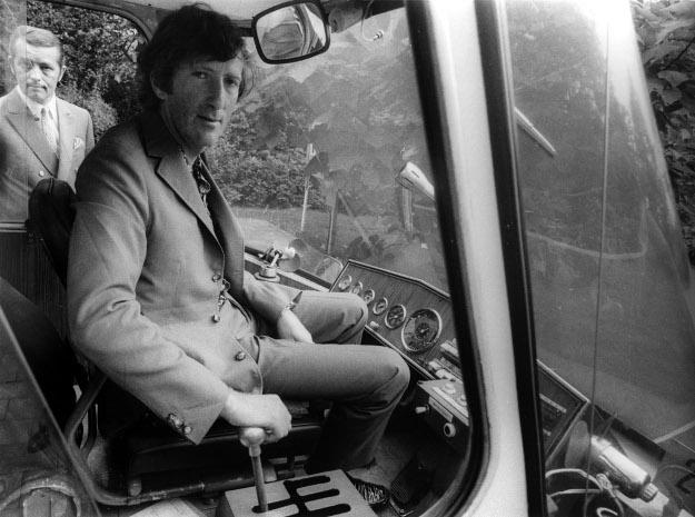 Jochen Rindt bei einer Werbeveranstaltung in Essen