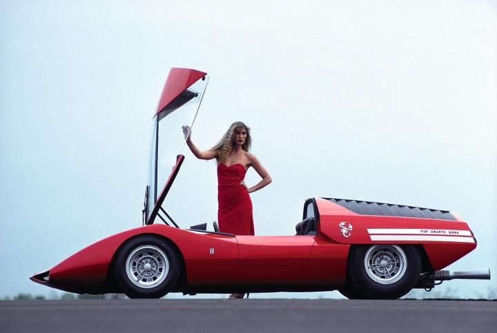 Concept Car, Abarth 2000 Pininfarina Scorpio, ca. 1970 (Foto: Rainer W. Schlegelmilch, teNeues)