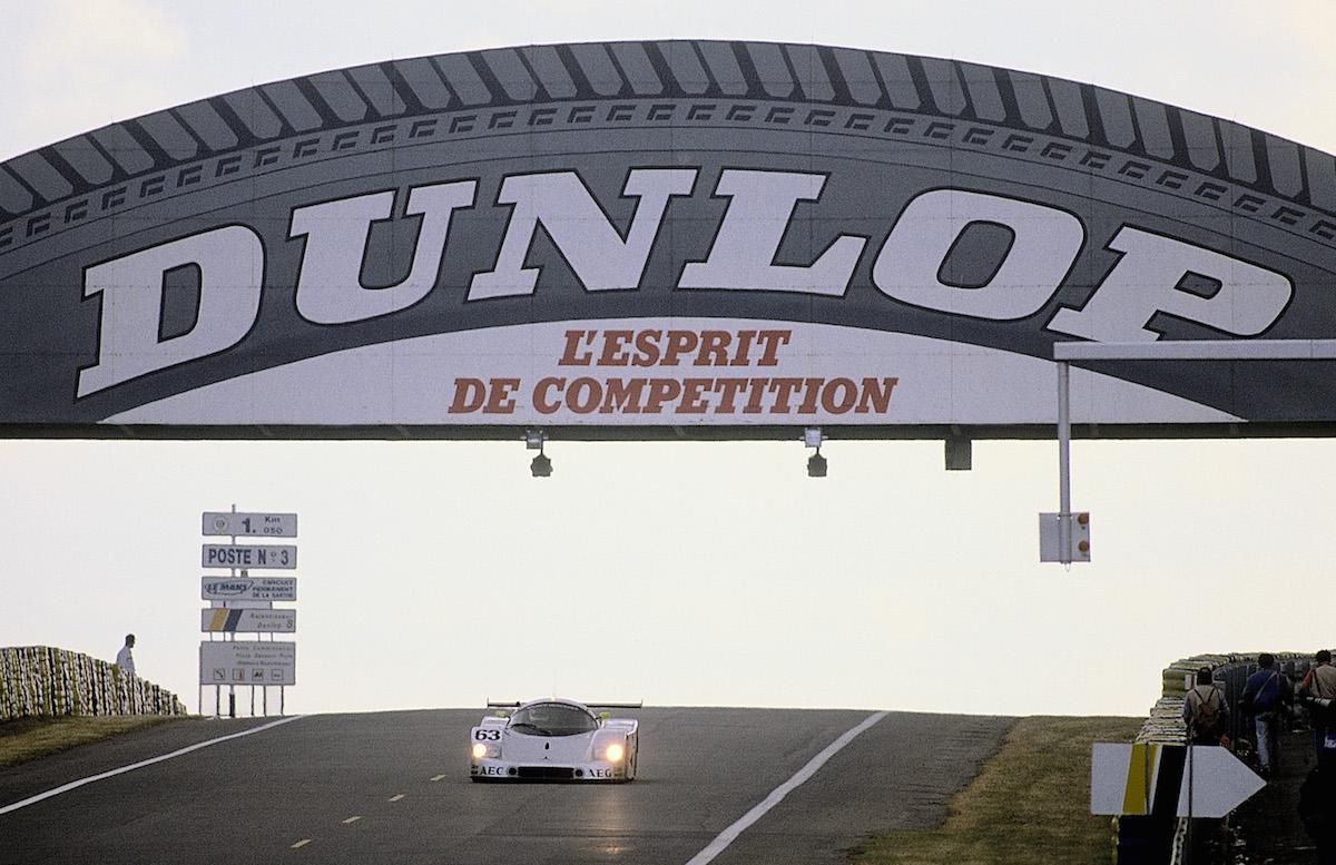 Sauber-Mercedes C9 bei den 24 Stunden von Le Mans 1989