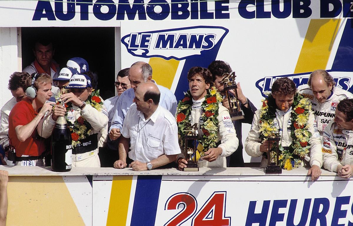 Le Mans 1989 Siegerehrung