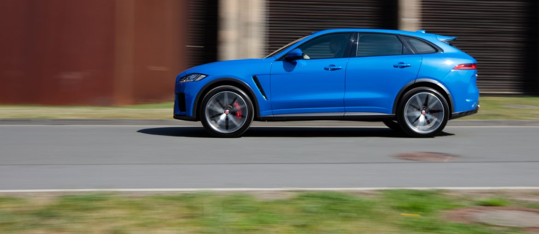 Unterwegs im Jaguar F-Pace SVR