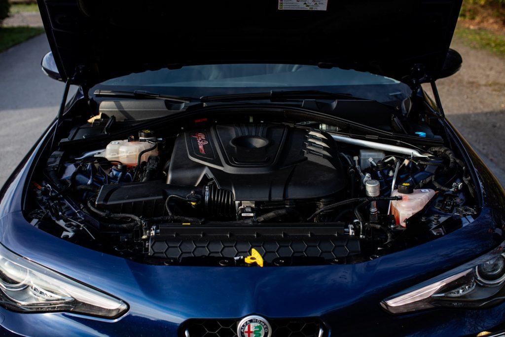 Motor der Alfa Romeo Giulia 2.2 Multijet AT8 Q4