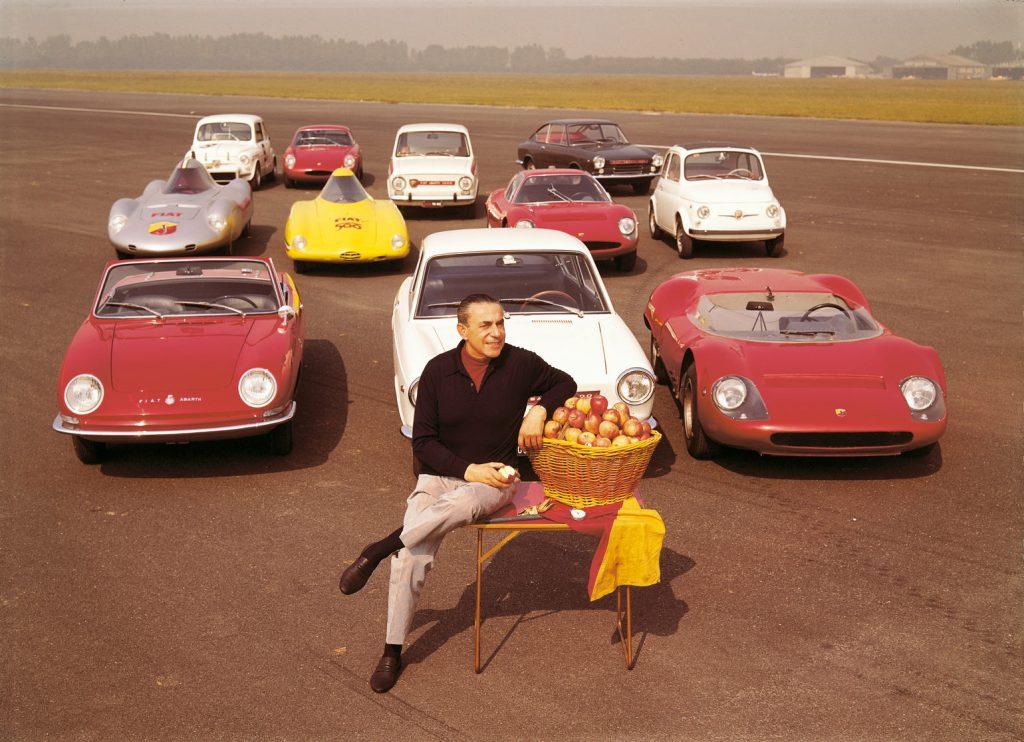 Carla Abarth und seine Autos