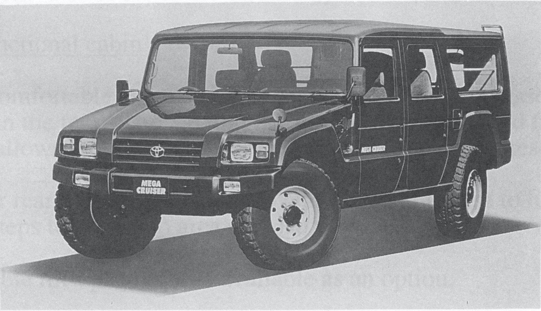 Toyota Mega Cruiser – japanisches Schalentier von 1996