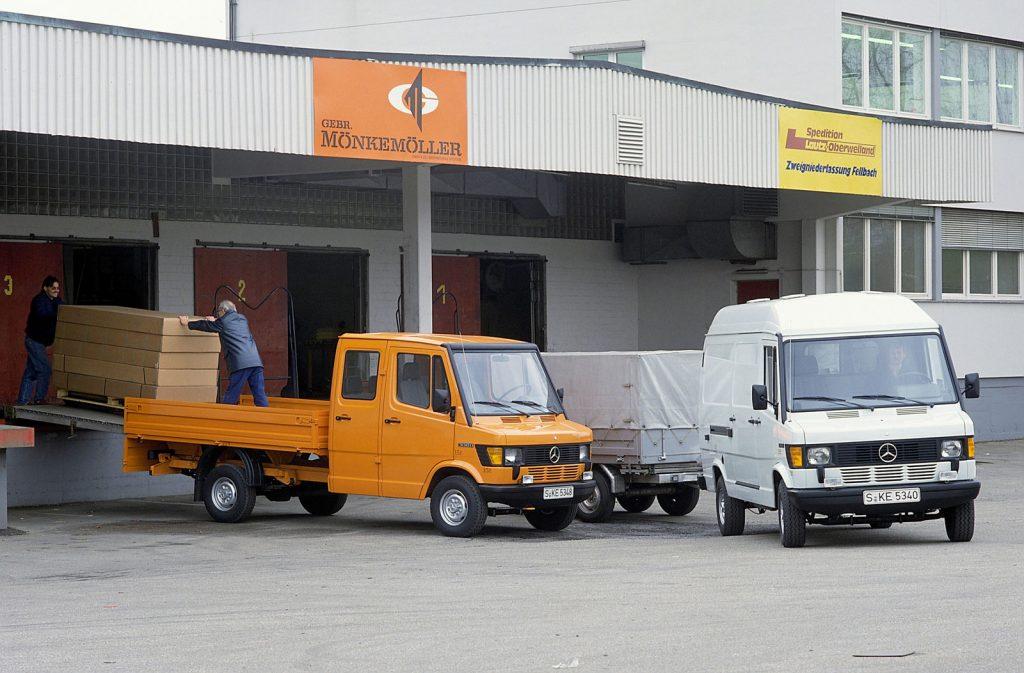 Die Bremer Transporter von Mercedes-Banz