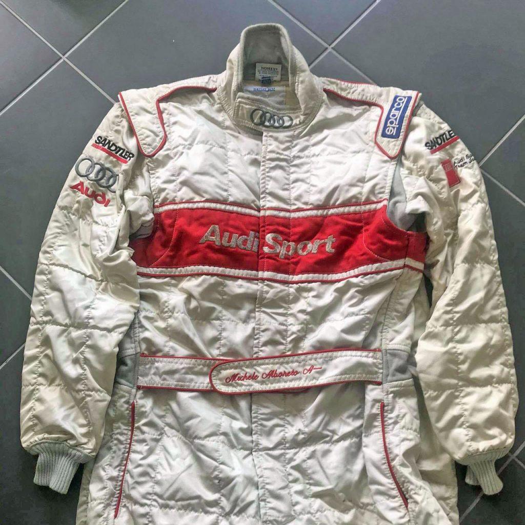 Rennanzug von Michele Alboreto aus der Saison 1999