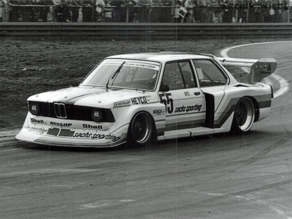 BMW 320 Turbo mit Harald Ertl