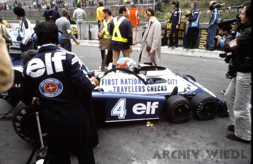 Tyrrell P34 beim Groben Preis von Belgien 1976