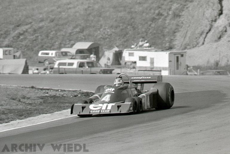 Tyrrell P34 beim Großen Preis von Kanada 1976