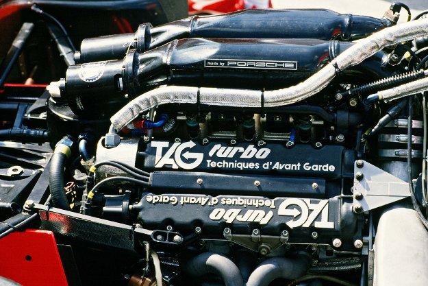Mit dem von Porsche entwickelten Formel 1-Motor Typ 2623 holte der McLaren-TAG MP4 ab 1984 dreimal in Folge den Weltmeistertitel