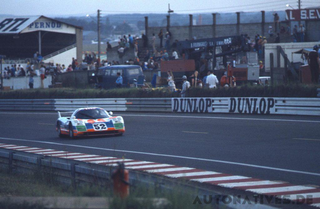 Der WM P79 mit dem PRV-Motor bei den 24 Stunden von Le Mans 1979.
