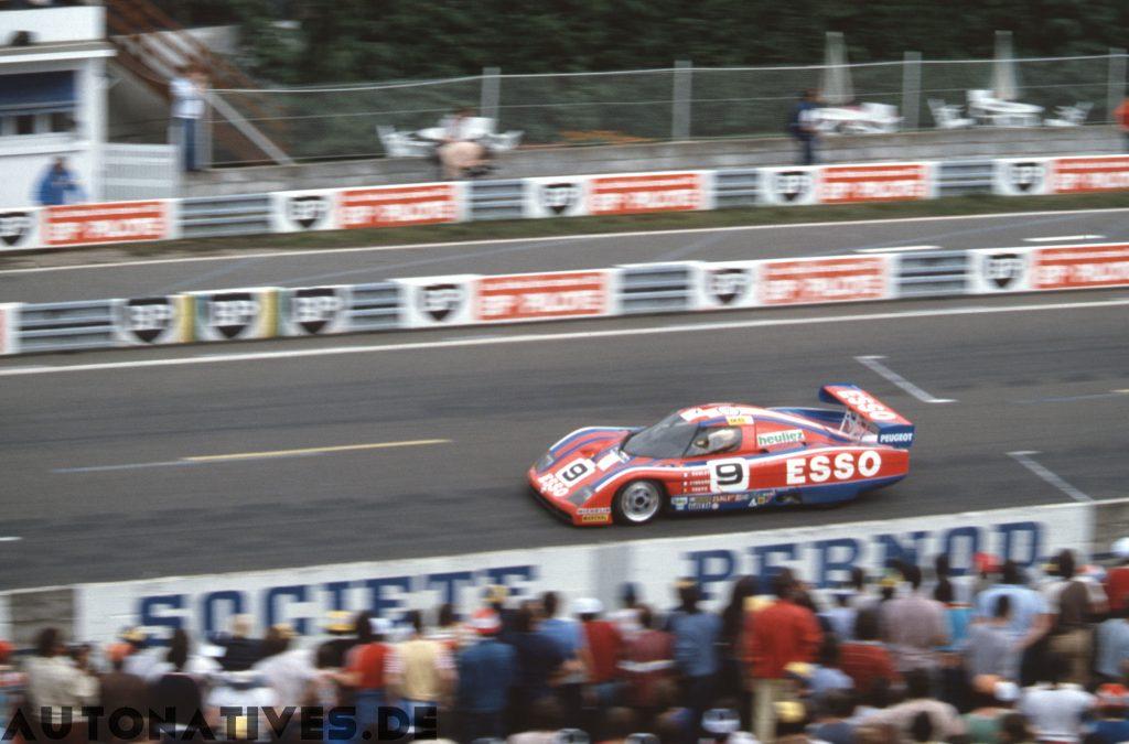 WM P82 bei den 24 Stunden von Le Mans 1982