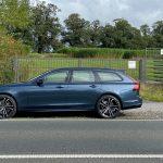 Unterwegs im Volvo V90 Recharge T6 AWD Modelljahr 2022